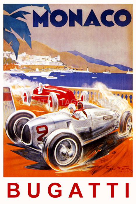 MONACO FASTEST BUGATTI STREET CAR RACE GRAND PRIX FRENCH ...