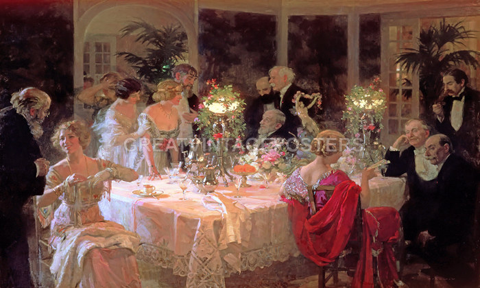 Queen Elizabeth Renaissance THE DINNER PARTY SOCIE...