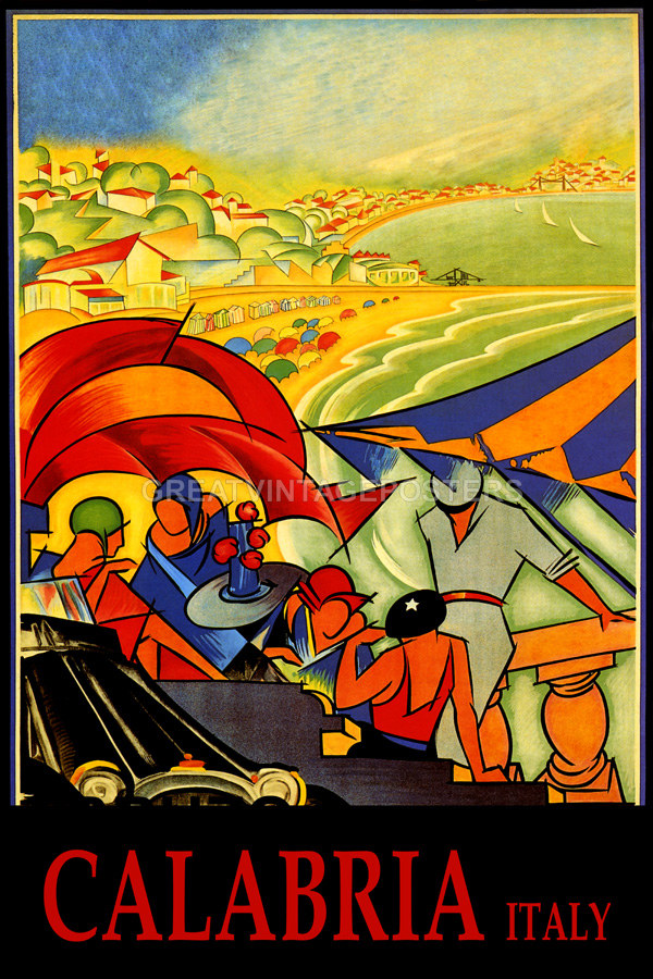 Sicily Italy Sailboat Boat Sport Travel Sailing Vintage Poster Repro FREE S//H